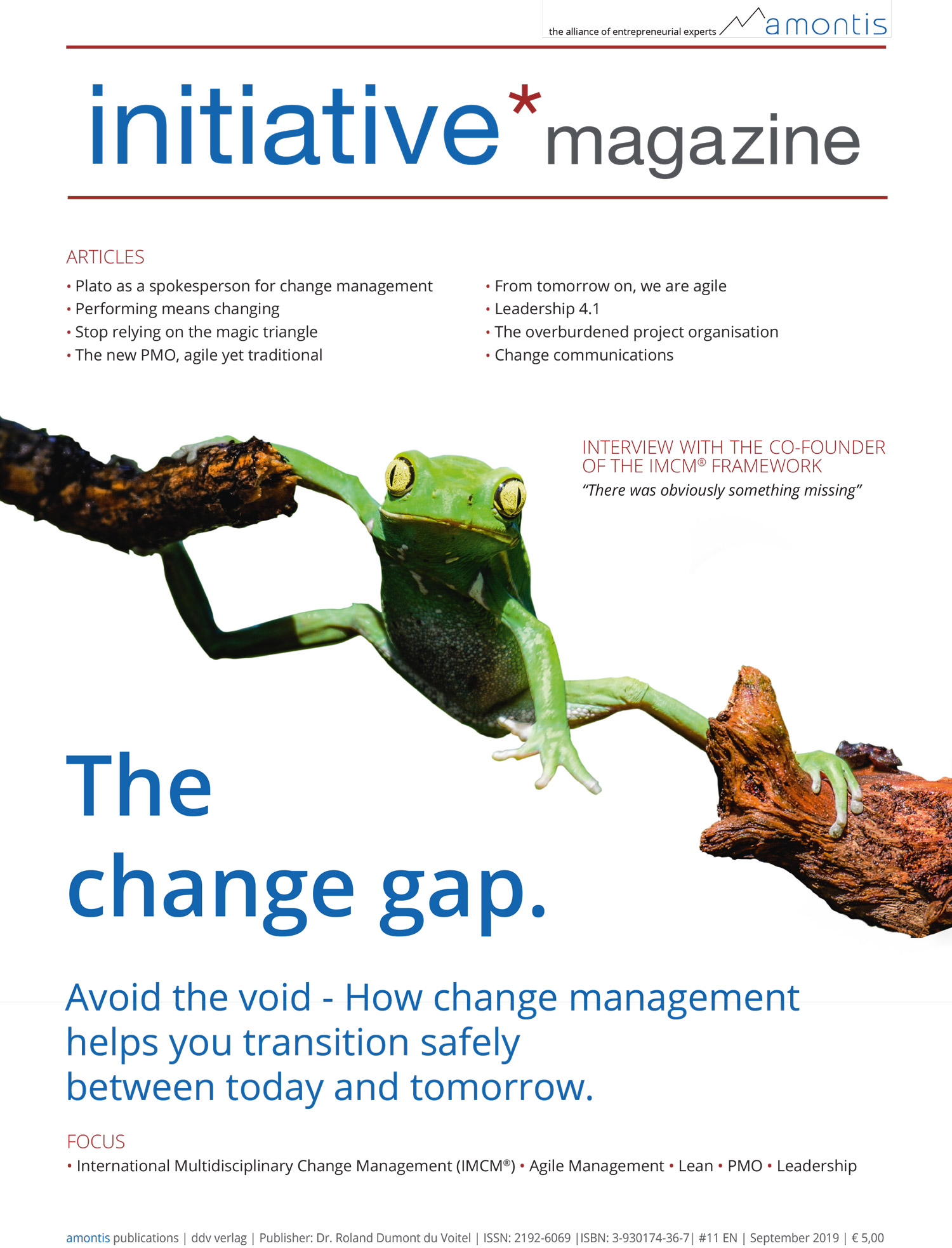 The change gap - initiative*magazine #11 (English edition)